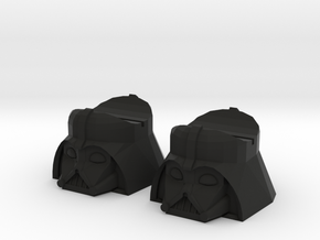 Darth Fader 2x in Black Natural Versatile Plastic