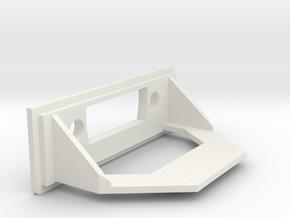 Amiga A1200 Rear Expansion DVI Cover in White Natural Versatile Plastic