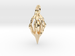 Vine Seed in 14K Yellow Gold