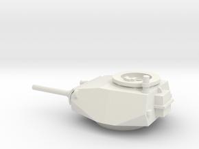 1-56 Pzkpfw I AusfC Vk 601 Turret in White Natural Versatile Plastic