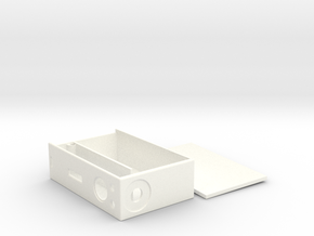 BussBox TK (Prototype) in White Processed Versatile Plastic