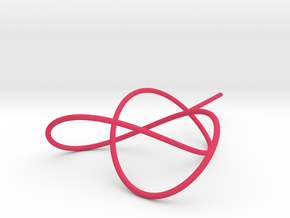 Trefoil Knot for Soap Experiments in Pink Strong & Flexible Polished