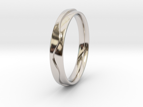 Layered Ring in Platinum