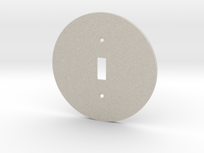 plodes® 1 Gang Toggle Switch Wall Plate in Natural Sandstone