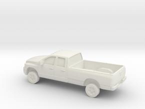 1/87 2006 Dodge Ram Crew Cab/ Long Bed in White Natural Versatile Plastic