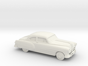 1/87 1951 Pontiac Chieftan Coupe in White Natural Versatile Plastic