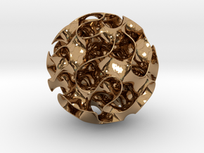 Gyroid in Polished Brass