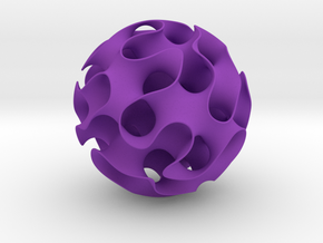 Gyroid in Purple Strong & Flexible Polished