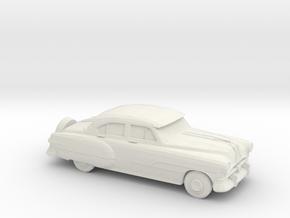 1/87 1951 Pontiac Chieftan Sedan in White Natural Versatile Plastic