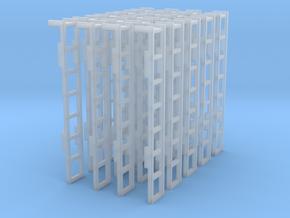 Aufstiegsleiter 20x in Smooth Fine Detail Plastic
