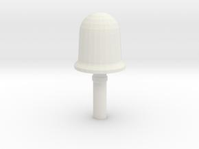 ~1/87 HO Sat Antennae for MRAPs in White Natural Versatile Plastic