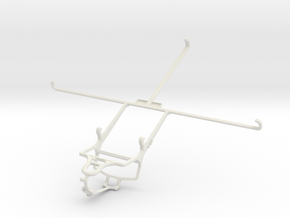 Controller mount for PS4 & Microsoft Surface 2 in White Natural Versatile Plastic