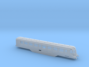 GWR - W35W - Saloon - N - 1:148 in Smooth Fine Detail Plastic