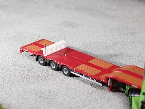 Support-stand Jumbo Trailer 10mm in White Acrylic