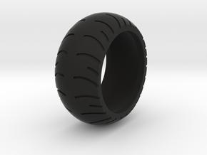 Chopper Rear Tire Ring Size 10 in Black Natural Versatile Plastic