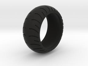 Chopper Rear Tire Ring Size 12 in Black Natural Versatile Plastic