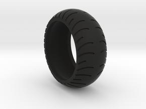 Chopper Rear Tire Ring Size 13 in Black Natural Versatile Plastic