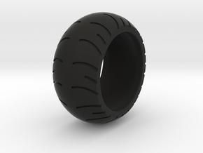 Chopper Rear Tire Ring Size 8 in Black Natural Versatile Plastic