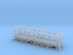 2161 TT Fährboot-Rungenwagen Rbmms 55 der DB in Smooth Fine Detail Plastic