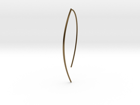 Branch in Polished Bronze