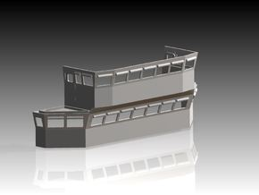 HMS Tiger Bridge 1/96 in Frosted Ultra Detail