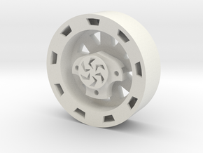 "Outrunner Wheel for AX4008 ""Star"" in White Natural Versatile Plastic"