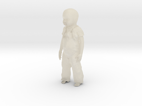 Toddler 1/29 scale in White Acrylic