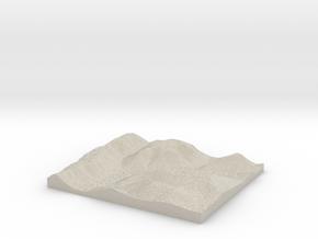 Model of Grays Run in Sandstone