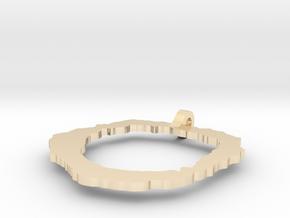 Vesuvius Pendant in 14k Gold Plated Brass