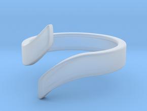 Open Design Ring (21mm / 0.82inch inner diameter) in Smooth Fine Detail Plastic