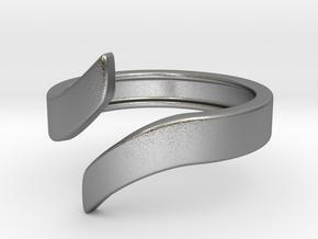Open Design Ring (28mm / 1.10inch inner diameter) in Natural Silver