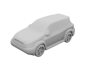 1:400 - SUV [x50] in Smooth Fine Detail Plastic