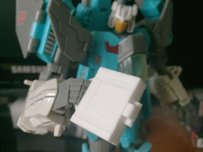 idw: briefcase style A in White Strong & Flexible