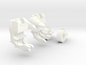 TF4: AOE Warrior of Liberty kit (hands v2) in White Strong & Flexible Polished