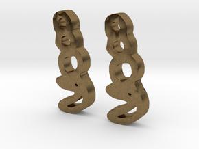sailor moon earrings 2 in Natural Bronze