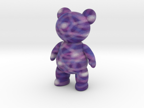 Teddy Bear - Crayon 2 in Full Color Sandstone