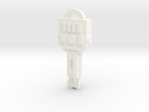 idw: Vector Sigma key in White Processed Versatile Plastic