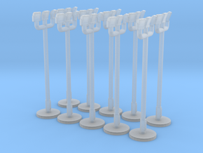 1:400 - Floodlight_v2 [x10] in Smooth Fine Detail Plastic