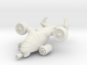 Terran VTOL Cruise Mode in White Natural Versatile Plastic