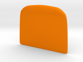 Dough cutter in Orange Strong & Flexible Polished