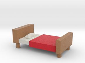 Bed in Full Color Sandstone