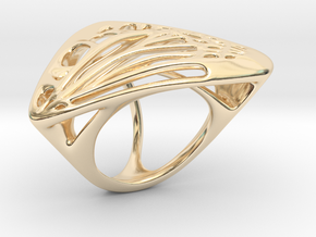 Butterfly Ring [ Size 7 ] in 14K Yellow Gold
