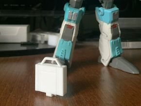 idw: Briefcase style B in White Strong & Flexible