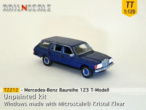 Mercedes-Benz T-Modell (TT 1:120) in Smooth Fine Detail Plastic