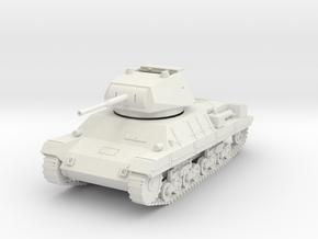 PV60B Italian P40 Tank - hatch open (28mm) in White Natural Versatile Plastic
