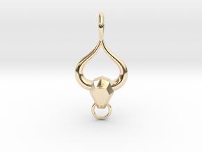 Taurean Love in 14k Gold Plated Brass