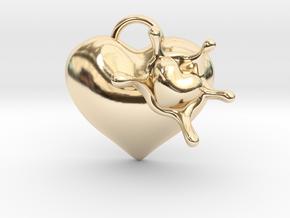 LoveSplash in 14k Gold Plated Brass