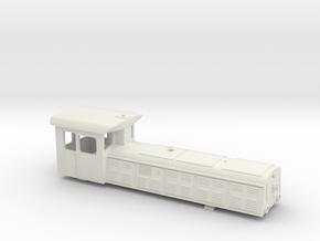 UDZ U-Bahn Diesel Lok Wien Gehäuse in White Strong & Flexible