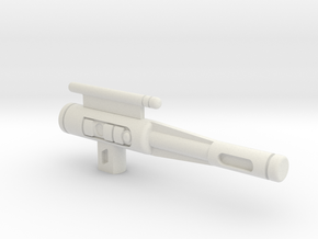 "CW  Wildrider ""Scattershot"" Gun in White Natural Versatile Plastic"
