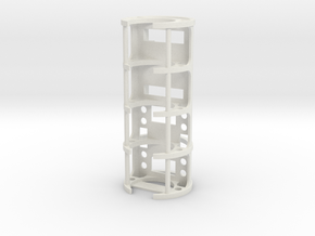 GCM114-01-NB - Nano Biscotte + PEX + 18650 cell in White Natural Versatile Plastic